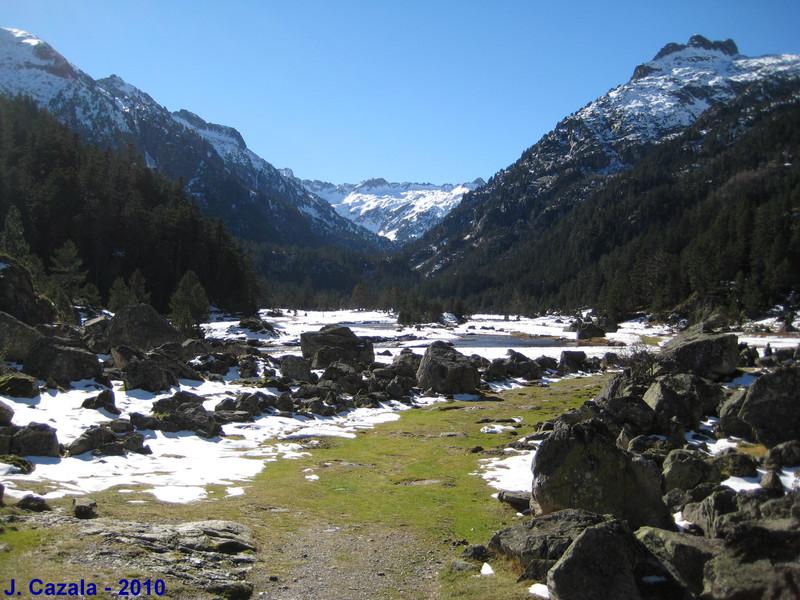 Le Plateau du Marcadau entre deux saisons