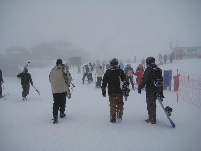 Chutes de neige à partir du 31 décembre et du 1er janvier