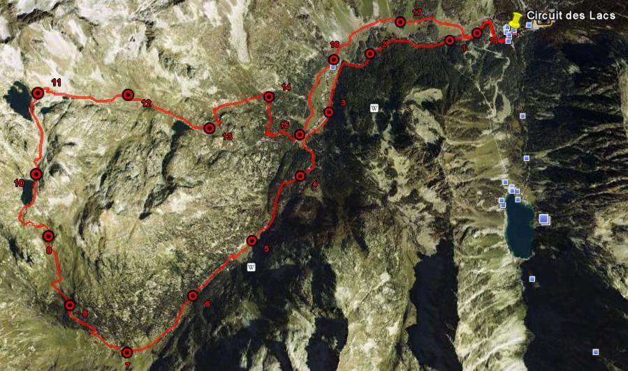 Visualisation du tracé dans Google Earth