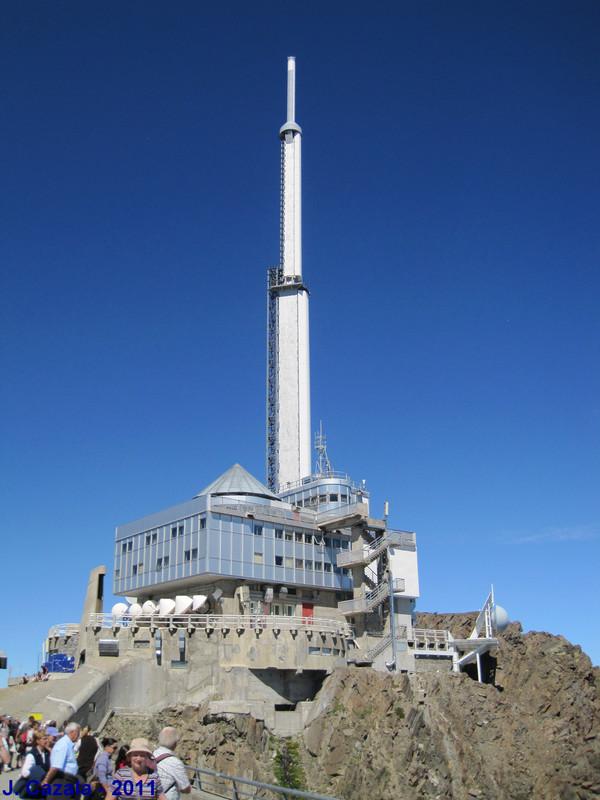 Installations du sommet du Pic du Midi