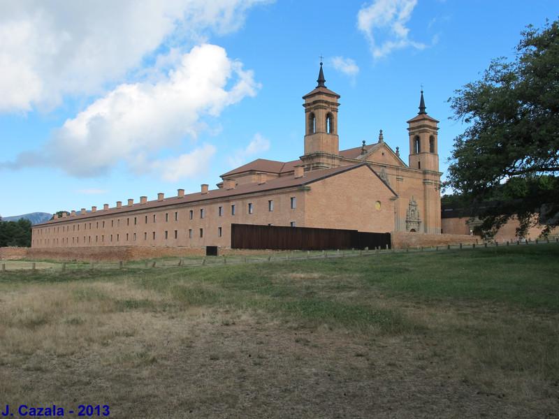 Le nouveau monastère San Juan de la Peña