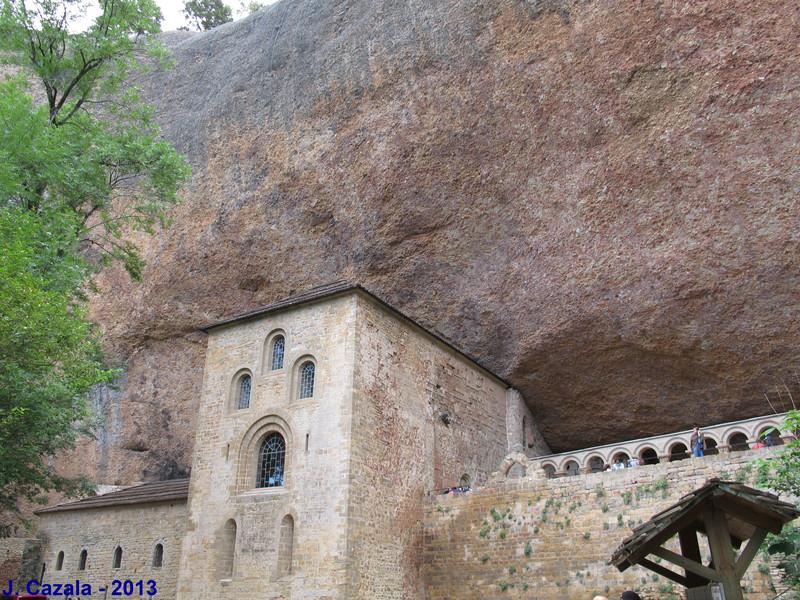 L'ancien monastère San Juan de la Peña