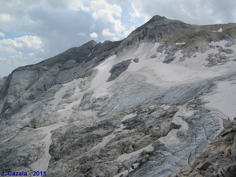 Glacier d'Ossoue au Vignemale