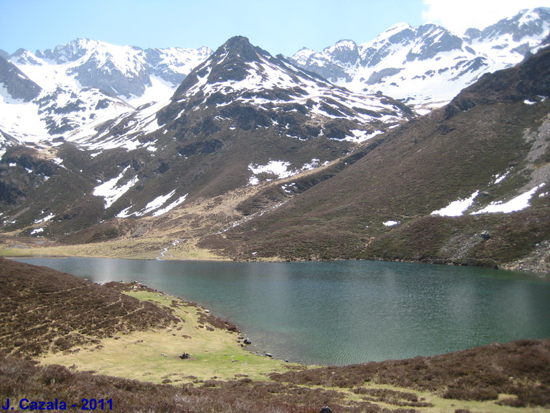 Le Lac d'Isaby