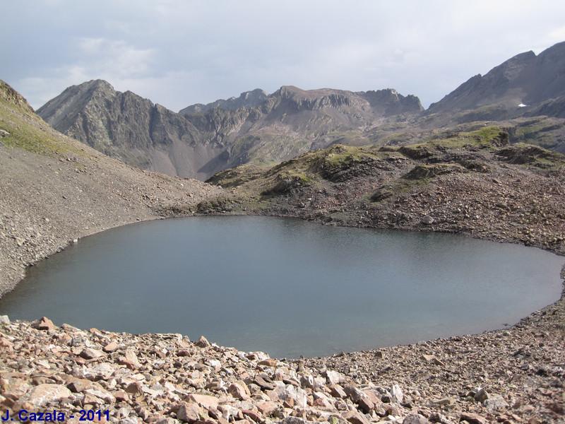 Petit lac du col