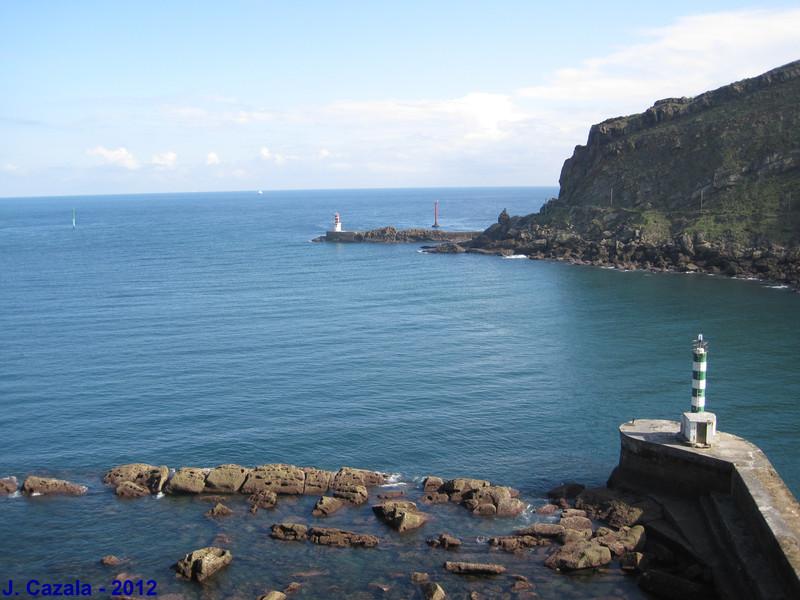 La côte basque près de Pasaia San Pedro