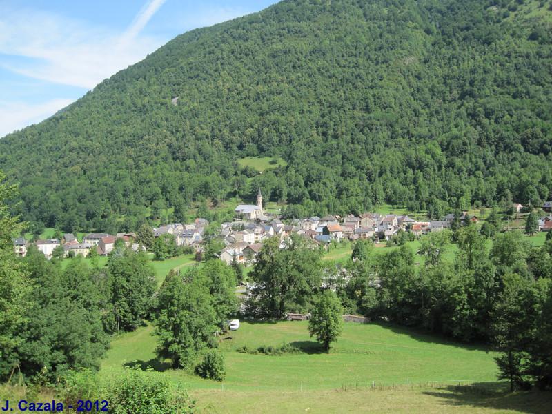 Le petit village d'Aulus-les-Bains