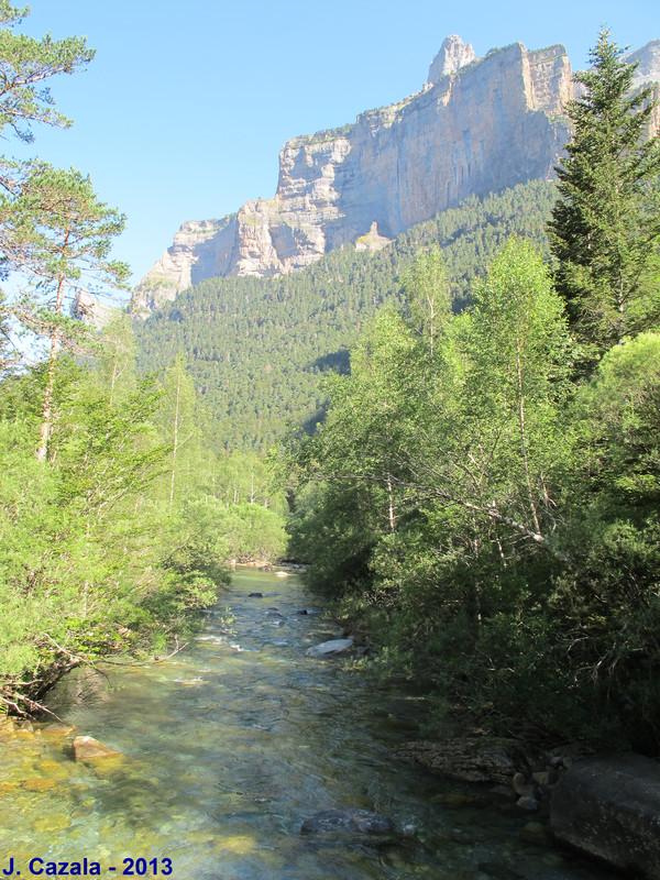 Vallée d'Ordesa au départ de la randonnée