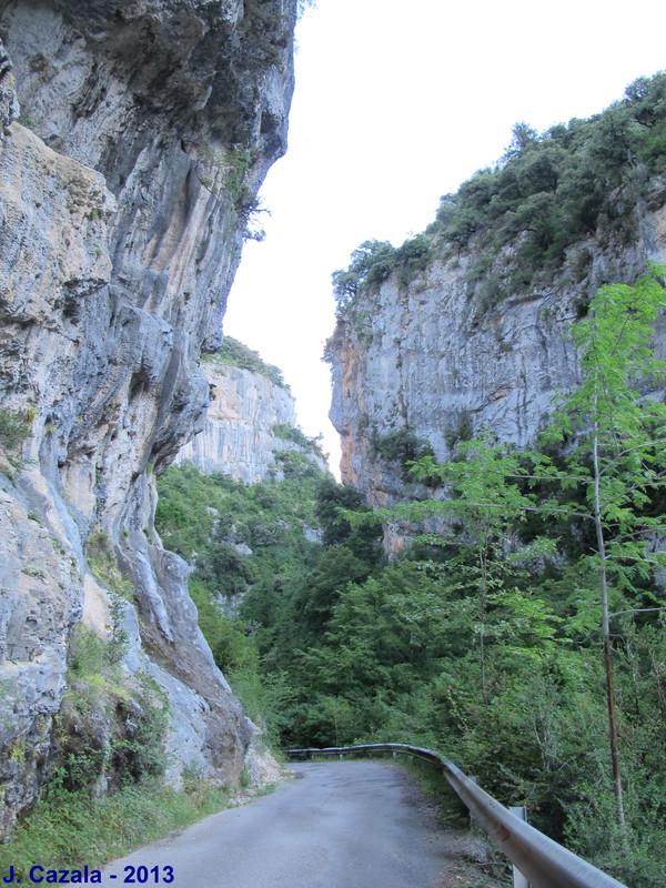 Le canyon d'Anisclo