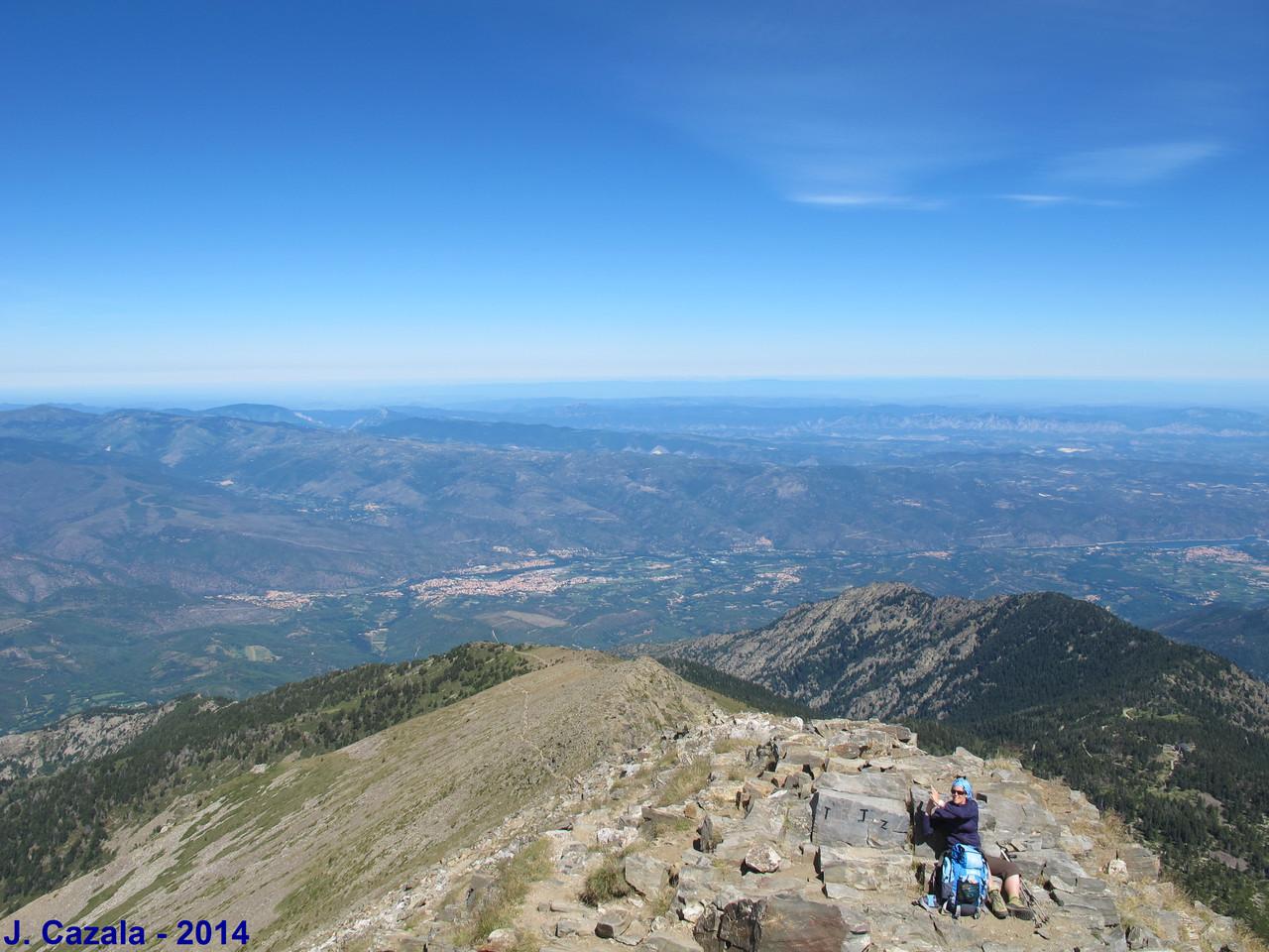 Au sommet du Canigou