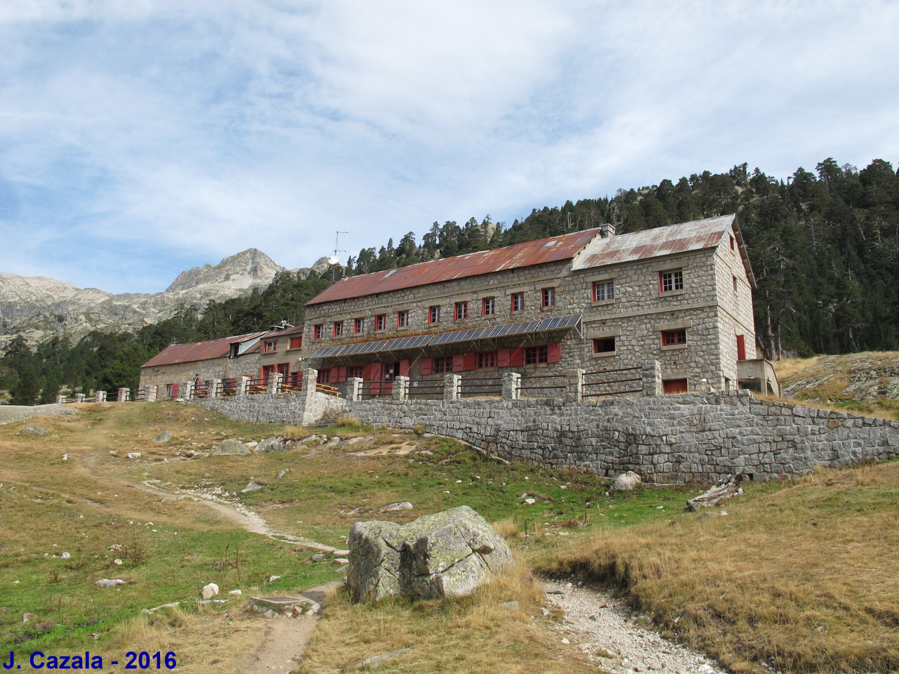 Refuge Wallon-Marcadau