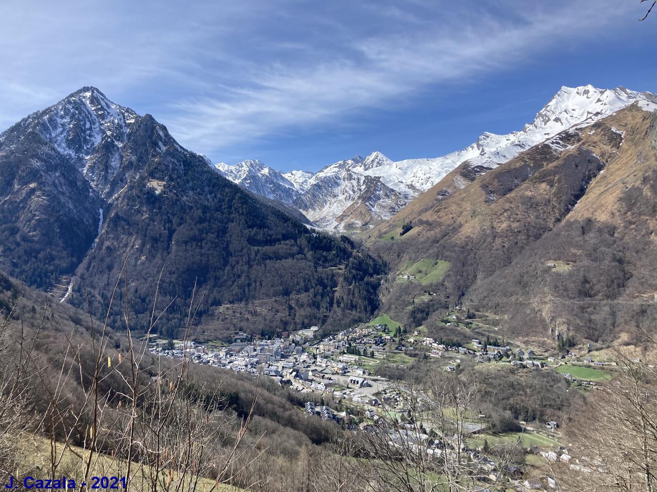 Vue sur la vallée de Cauterets