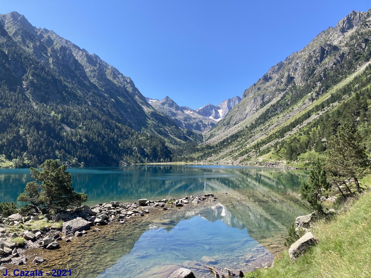 Le majestueux lac de Gaube