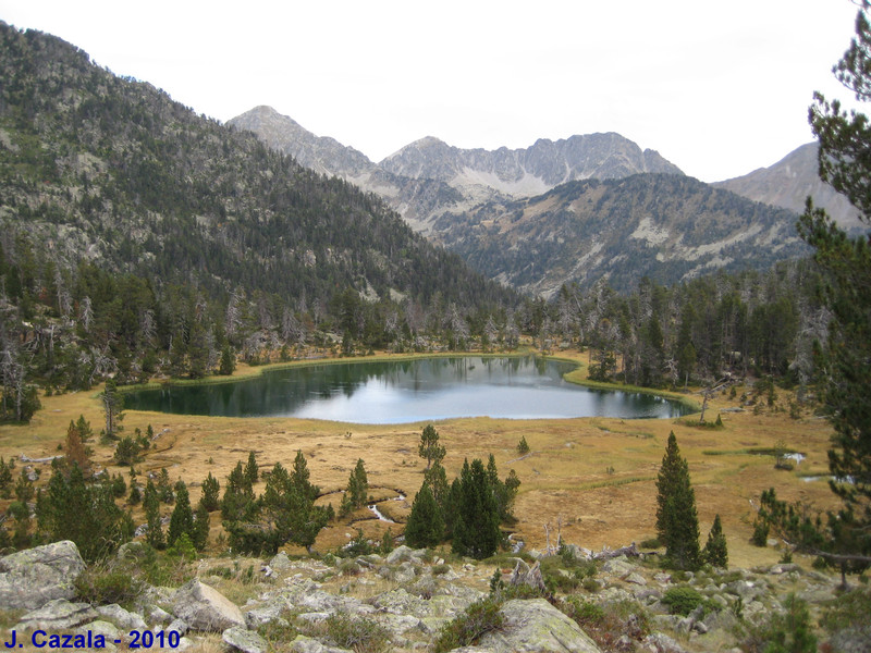 La vallée d'Estibère et ses lacs