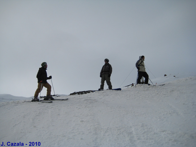 Prêts pour démarrer cette semaine de ski !