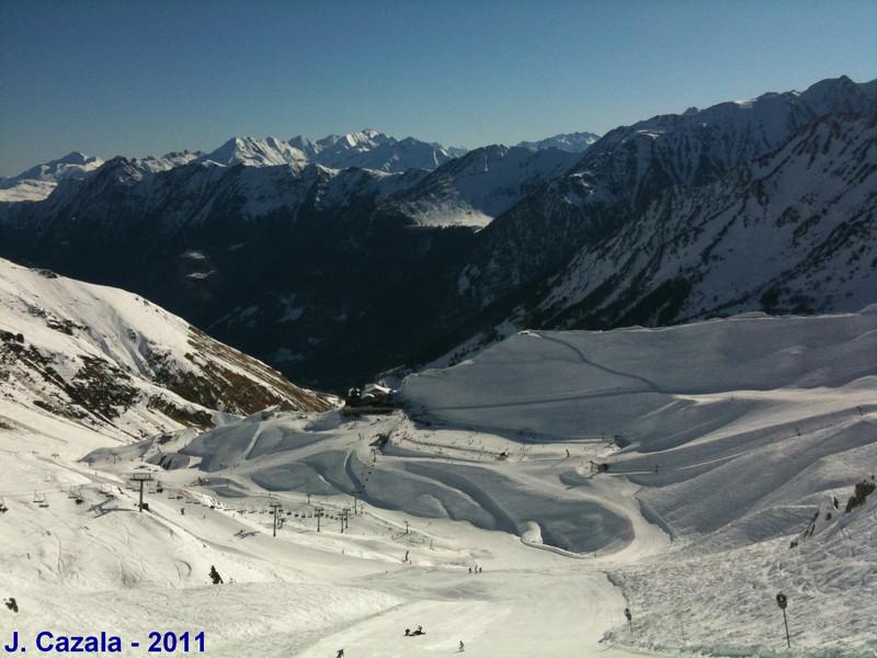 Une belle journée de ski en ce mois de mars !