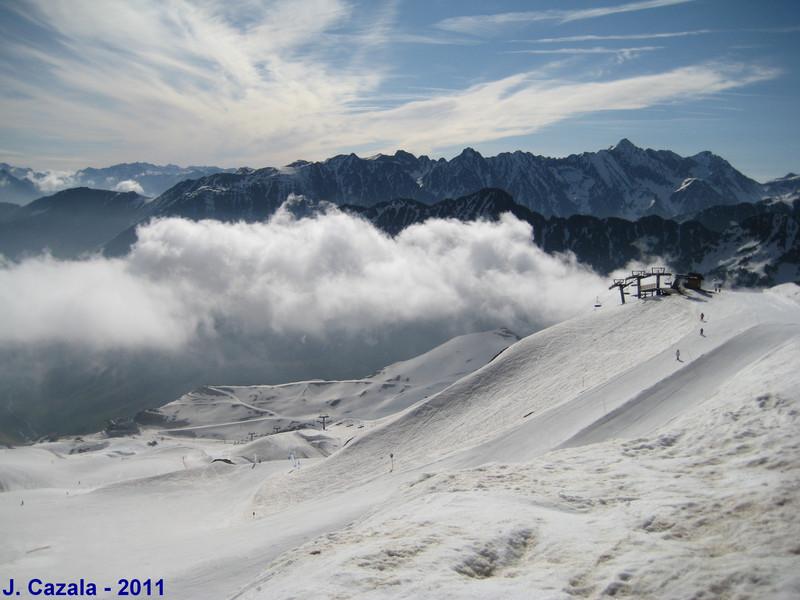 Journée de ski de printemps à Cauterets