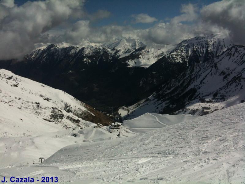 Dernière journée de ski dans la poudreuse !